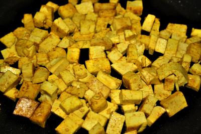 Kurkuma Tofu