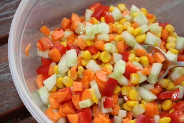 Konfetti Salat