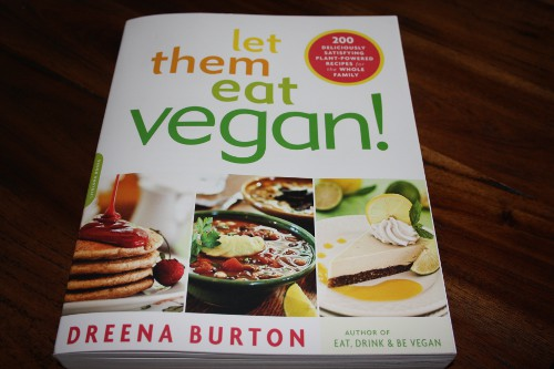 Buchcover Let them eat vegan