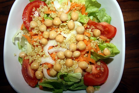 Everyday Chickpea Quinoa