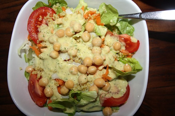 Everyday Chickpea Quinoa Salad