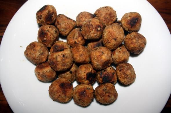 Tofu Balls La Dolce Vegan