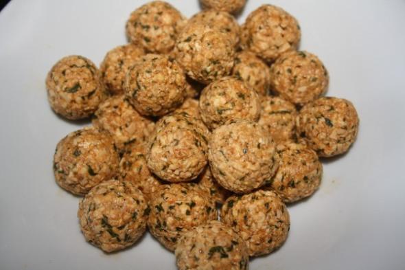 Tofuballs roh