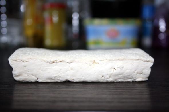 Tofu gepresst